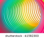 Abstract Background Of Rainbow...