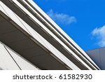 multi level angular building... | Shutterstock . vector #61582930