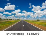 Outback Highway Stretching To...
