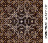 seamless mandalas pattern.... | Shutterstock .eps vector #615844349