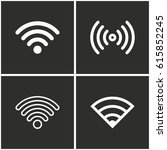Wi Fi Vector Icons Set....