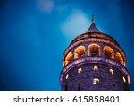 istanbul turkey  february 18... | Shutterstock . vector #615858401