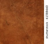 old leather  brown chamois... | Shutterstock . vector #61588660