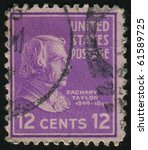united states   circa 1937 ... | Shutterstock . vector #61589725