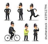 English Policeman Cartoon....