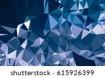 abstract low poly background ... | Shutterstock . vector #615926399