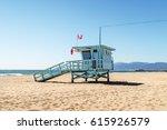 Lifeguard Tower At The Beach I...