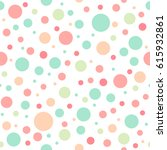 seamless abstract pattern of... | Shutterstock .eps vector #615932861