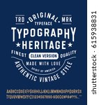 "vintage typeface ""typography... 