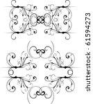 vector design element   Shutterstock .eps vector #61594273