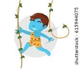 blue boy using wild man custom...