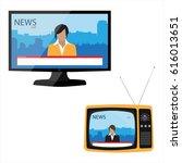 raster illustration electronic... | Shutterstock . vector #616013651
