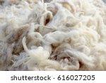 wool texture closeup | Shutterstock . vector #616027205