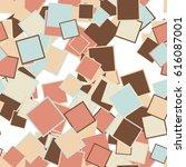 abstract seamless pattern art... | Shutterstock . vector #616087001