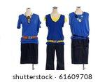 set of collection of dress on... | Shutterstock . vector #61609708