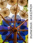 background of thai native...   Shutterstock . vector #616129424