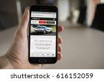 lendelede belgium   february... | Shutterstock . vector #616152059