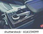 closeup photo of car interiors...   Shutterstock . vector #616154099
