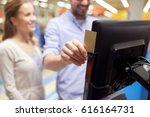shopping  technology ... | Shutterstock . vector #616164731