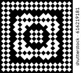 slavic embroidery motif. ethnic ... | Shutterstock .eps vector #616219181