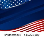 usa background design vector... | Shutterstock .eps vector #616228109