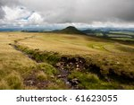 view of the mountain of besse   Shutterstock . vector #61623055
