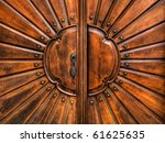 An Old Wood Door