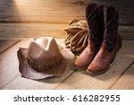 Cowboy Women's Boots  Hat  Rop...