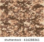 texture military camouflage... | Shutterstock .eps vector #616288361