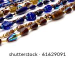 Colorful Beads Background On...