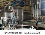 view on industrial dairy... | Shutterstock . vector #616326125