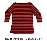 red and black striped female... | Shutterstock . vector #616336757