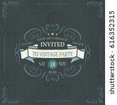 vintage banners and frames   Shutterstock .eps vector #616352315