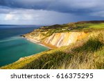 walk up to the needles on the... | Shutterstock . vector #616375295