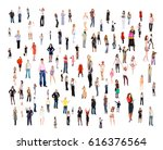 workforce concept business... | Shutterstock . vector #616376564