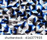 digital art abstract pattern... | Shutterstock . vector #616377935