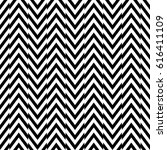 zigzag lines. jagged stripes.... | Shutterstock .eps vector #616411109