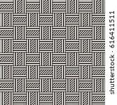 vector seamless pattern. modern ... | Shutterstock .eps vector #616411511
