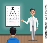 male eye doctor ...   Shutterstock .eps vector #616440791