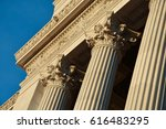 Corinthian Columns At The Alta...