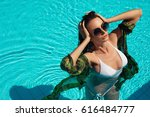 summer fashion. fashionable... | Shutterstock . vector #616484777