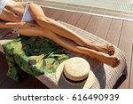 woman body in bikini. female... | Shutterstock . vector #616490939