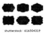 vector vintage labels.grunge... | Shutterstock .eps vector #616504319