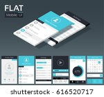 flat ui mobile design template...