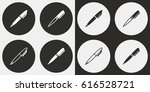 pen vector icons set.... | Shutterstock .eps vector #616528721