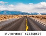 open highway in california  usa. | Shutterstock . vector #616568699