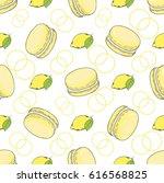 seamless vector pattern. lemon...   Shutterstock .eps vector #616568825