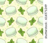 seamless vector pattern. green...   Shutterstock .eps vector #616571249
