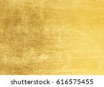 shiny yellow leaf gold foil... | Shutterstock . vector #616575455