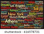 cities of the world  travel... | Shutterstock .eps vector #616578731